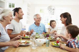 Una cena con i nonni è più gustosa!